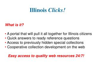 Illinois  Clicks!