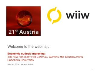 Welcome to the webinar: