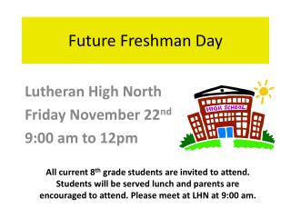 Future Freshman Day