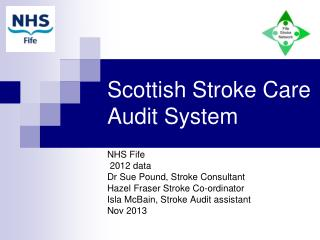 Scottish Stroke Care Audit System