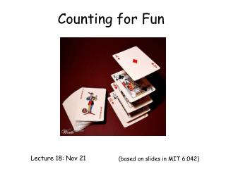 Counting for Fun