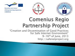 Comenius Regio Partnership Project