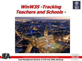 WinW3S -Tracking Teachers and Schools -