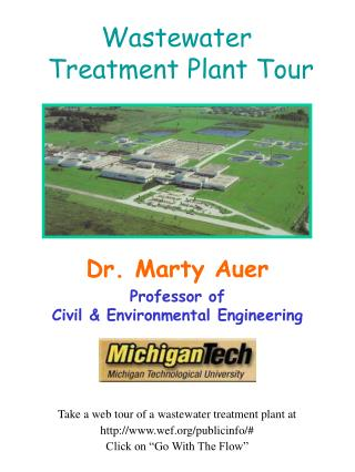 Wastewater  Treatment Plant Tour