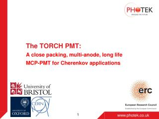The TORCH PMT :