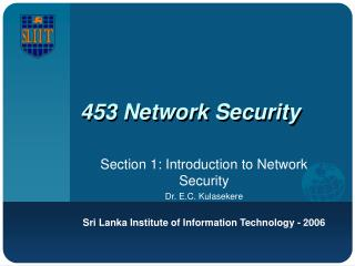 453 Network Security