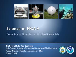 Science at NOAA