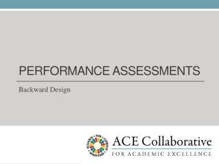 PERFORMANCE ASSESSMENTS
