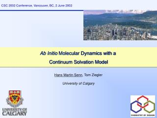 Ab Initio  Molecular Dynamics with a  Continuum Solvation Model
