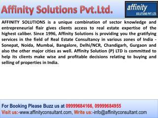 TDI My Floors Kundli 09999684166|TDI Kundli Sonipat Property