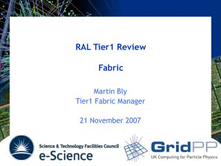 RAL Tier1 Review Fabric