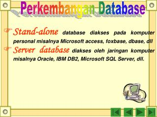 Perkembangan Database