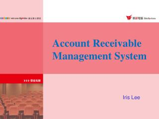 Account Receivable  Management System