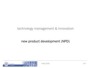 technology management & innovation