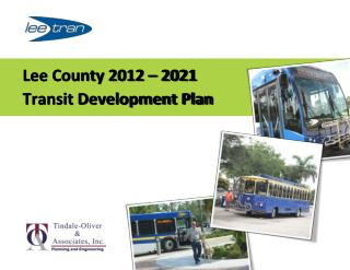 Lee County 2012 – 2021  Transit Development Plan