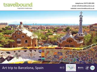 Art trip to Barcelona, Spain