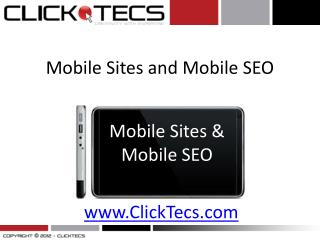 Build Mobile Websites | How to make a Mobile Website