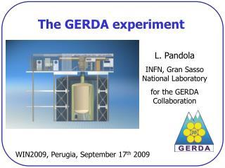 The GERDA experiment