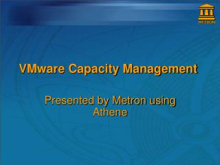 VMware Capacity Management