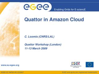 Quattor in Amazon Cloud