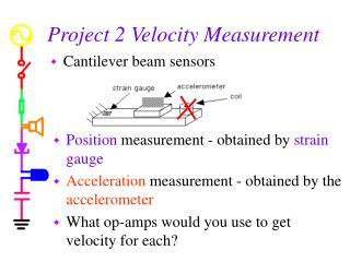 Project 2 Velocity Measurement