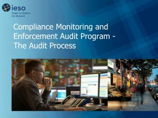 Compliance Monitoring and Enforcement Audit Program -  The Audit Process