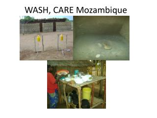 WASH, CARE Mozambique