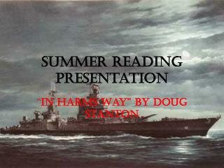 Summer Reading Presentation