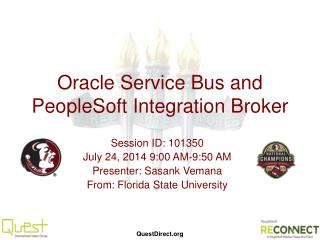 Oracle Service Bus and PeopleSoft Integration Broker