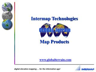 Intermap Technologies Map Products