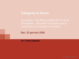Avv. Paolo Esposito