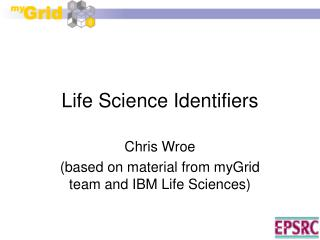 Life Science Identifiers