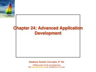 Chapter 24: Advanced Application Development