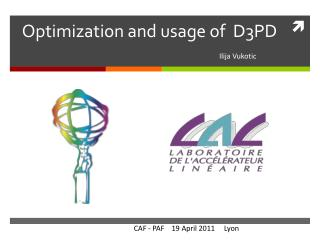Optimization and usage of D3PD