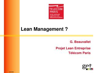 Lean Management ?