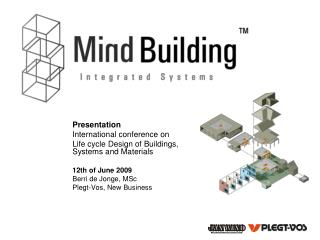 Presentation International conference on  Life cycle Design of Buildings, Systems and Materials