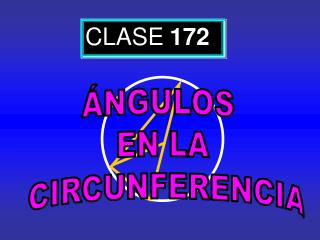 CLASE 172