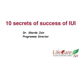 10 secrets of success of IUI