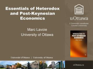 Essentials of Heterodox and Post-Keynesian Economics