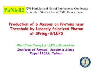 Production of    Mesons on Protons near Threshold by Linearly Polarized Photon  at SPring-8/LEPS
