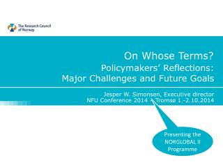 Policymakers' Reflections: Major Challenges and Future Goals