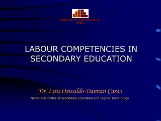 LABOUR COMPETENCIES IN SECONDARY EDUCATION