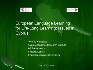 European Language Learning for Life-Long Learning: Issues in Cyprus