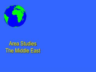 Area Studies  The Middle East