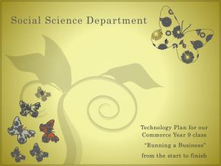 Social Science Department