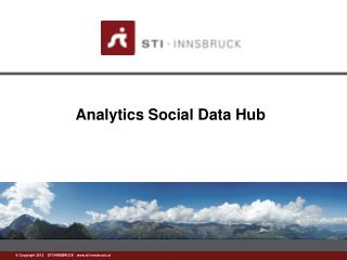 Analytics Social Data Hub