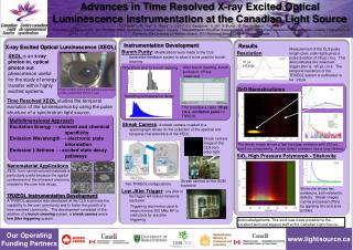 X-ray Excited Optical Luminescence (XEOL)
