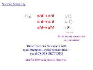 Nucleon Scattering