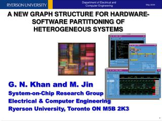 A NEW GRAPH STRUCTURE FOR HARDWARE-SOFTWARE PARTITIONING OF HETEROGENEOUS SYSTEMS