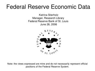 Note: the views expressed are mine and do not necessarily represent official positions of the Federal Reserve System.
